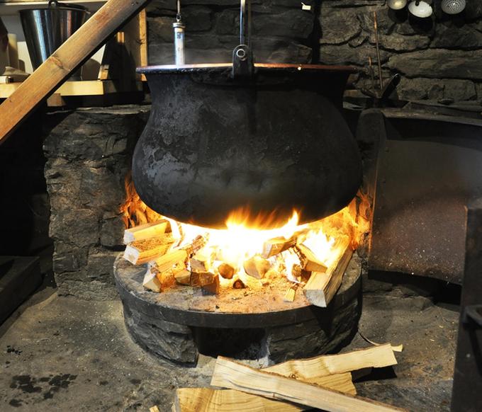Eine Feuerstelle im Haus sorgte vermutlich für zufälliges Räuchern