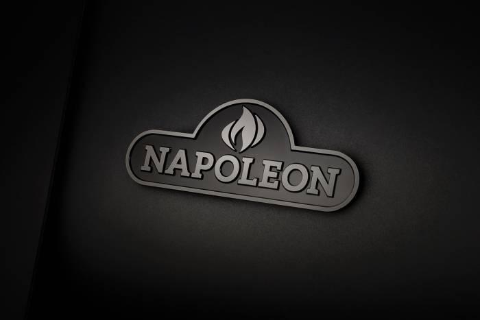 Napoleon Phantom Gasgrill mit mattschwarzer Emaillierung