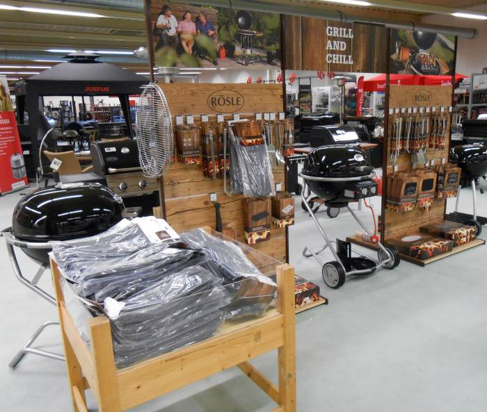 xxl grill shop megastore in hersfeld hessen. Black Bedroom Furniture Sets. Home Design Ideas