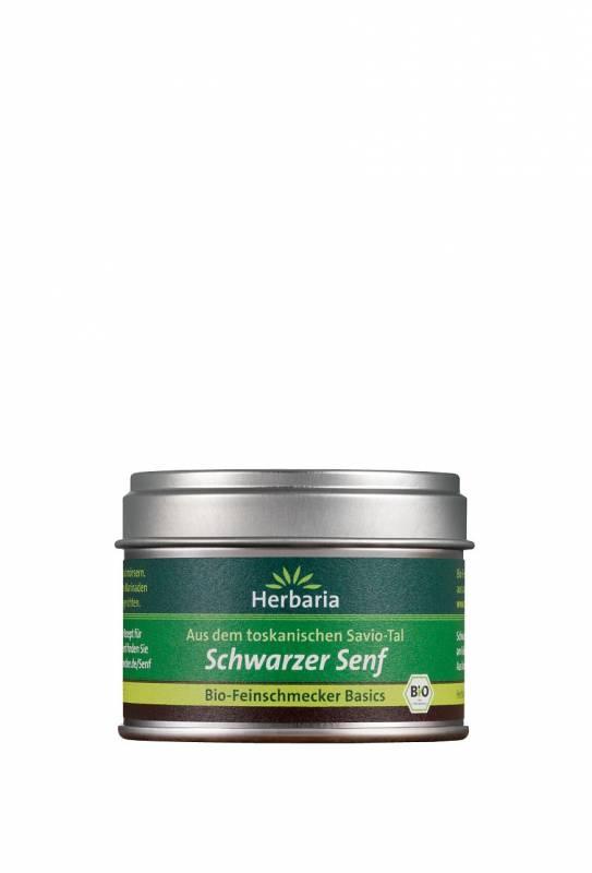 Herbaria BIO Schwarzer Senf - aus dem toskanischen Savio-Tal 40g