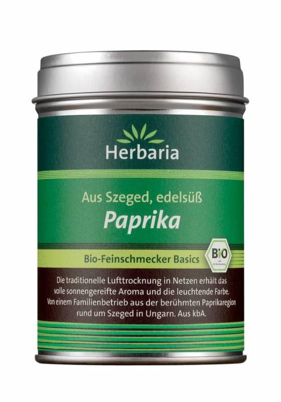 Herbaria BIO Paprika edelsüß - aus Ungarn 80g