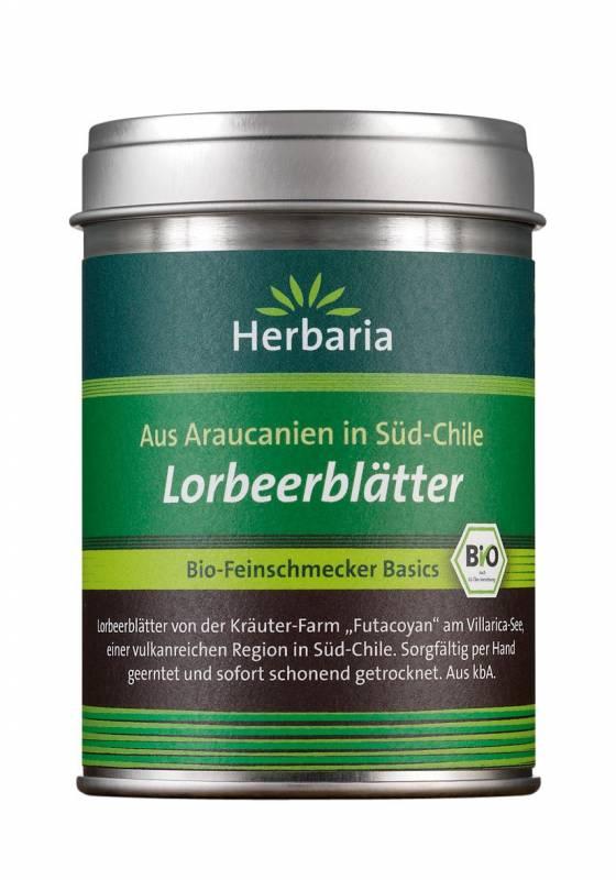 Herbaria BIO Lorbeerblätter - aus Araucanien in Süd-Chile - 5g