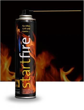 Superfeuer startfire Feuerspray Einzelflasche 300ml