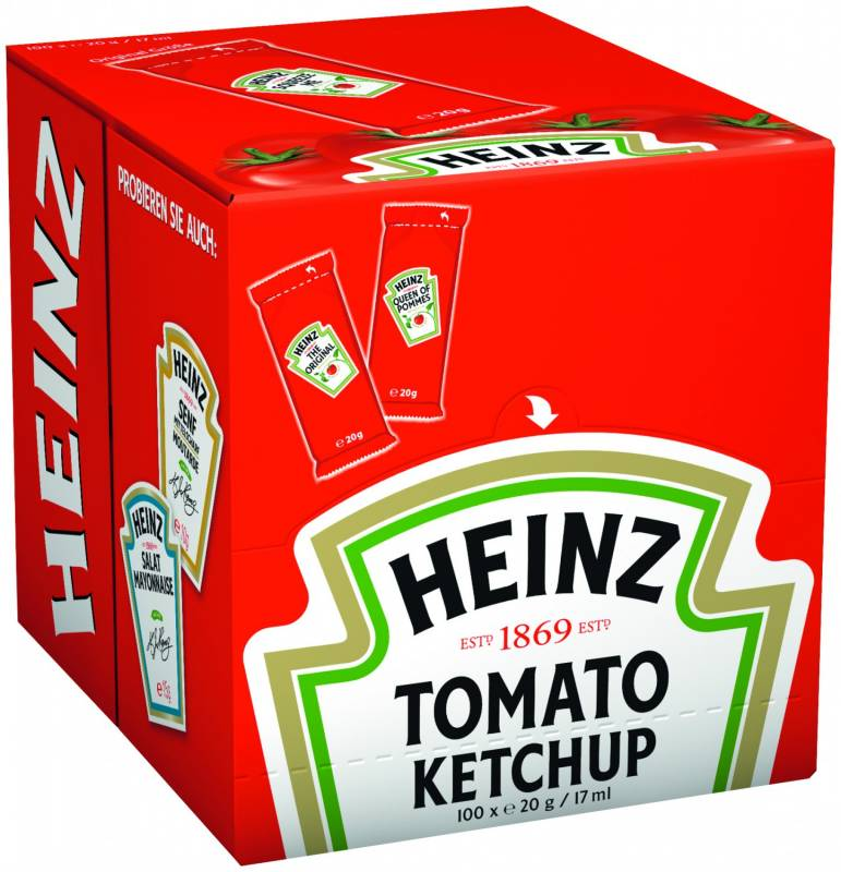 Tomato Ketchup Portionsbeutel
