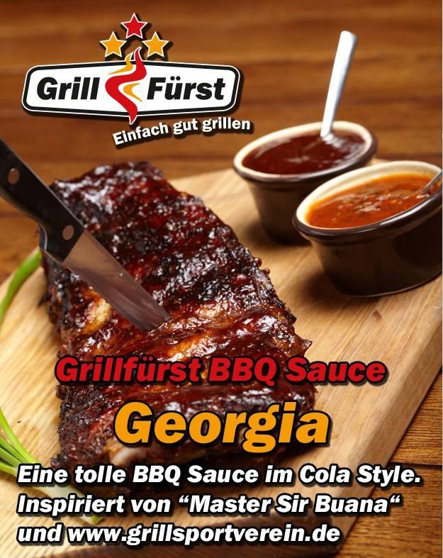 Grillfürst BBQ Sauce Georgia