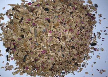 500g Rebenglut Räucherchips aus altem Barriqueholz