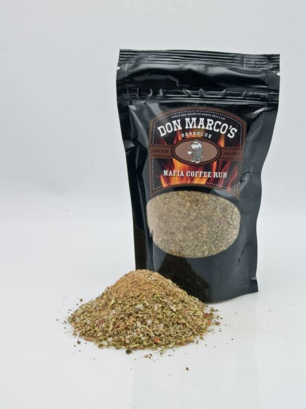 Don Marco`s Dry Rub Mafia Coffee Rub 630g