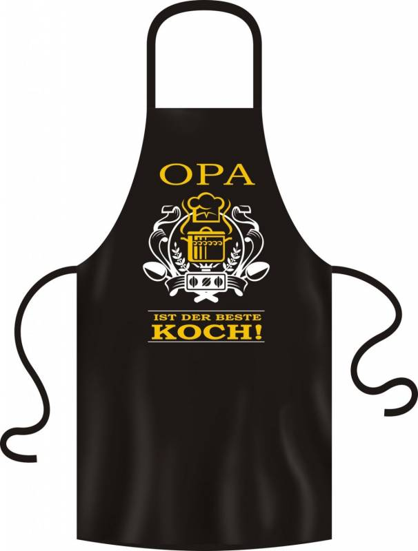 Grillschürze Opa ist der beste Koch
