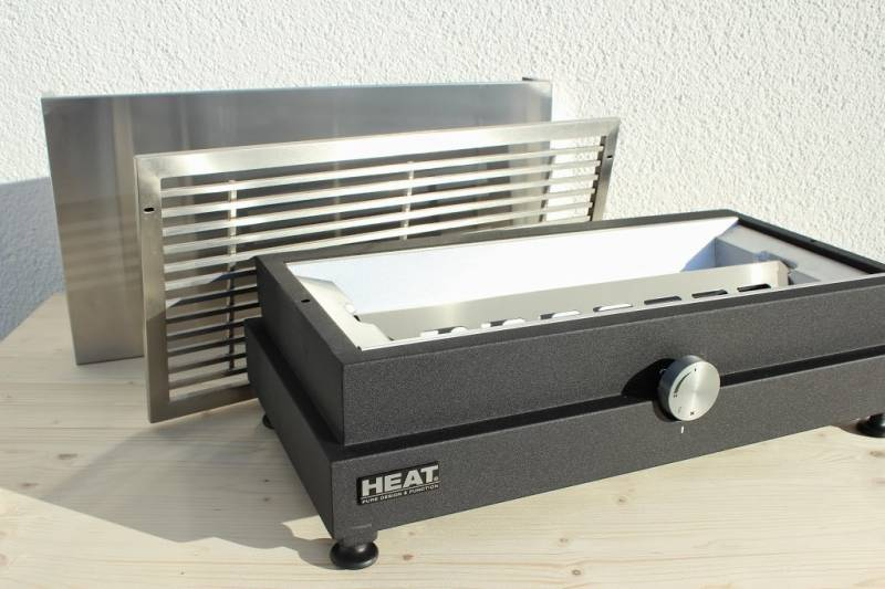 HEAT Table BBQ Gasgrill  Edelstahl
