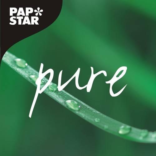 Papstar: 50 Teller, Zuckerrohr pure oval 26 cm x 20 cm x 2 cm weiss