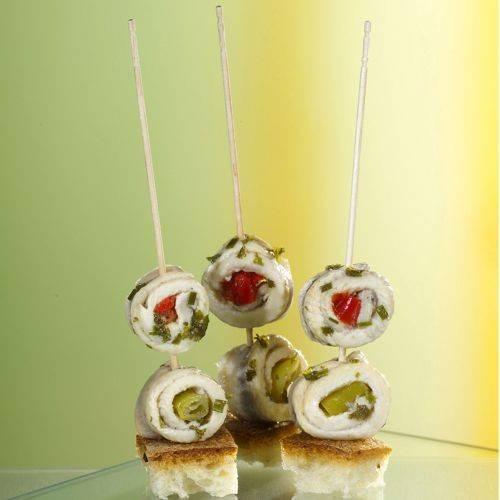 "500 Fingerfood - Spieße ""pure"" 15 cm gedrechselt"