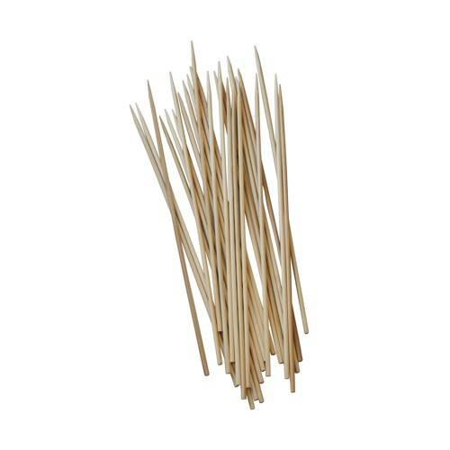 Papstar: 50 Schaschlikspieße, Holz Ø 3 mm 20 cm