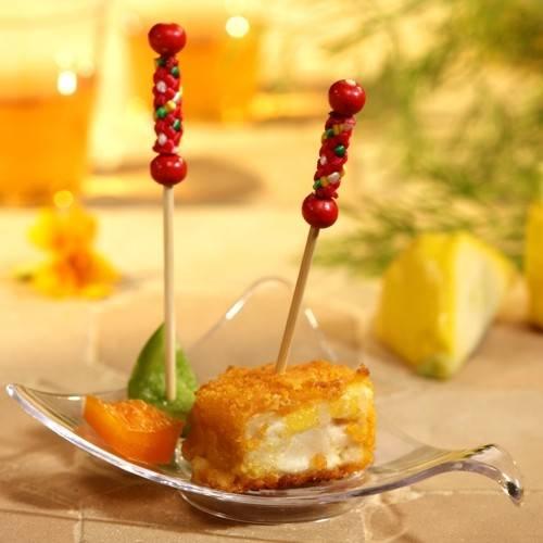 "40 Fingerfood - Spieße 6 cm ""Knoten"""