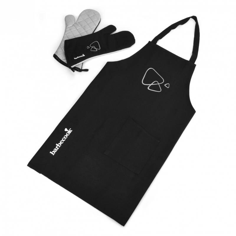 Barbecook Schürzenset mit 1 Paar Grill-Handschuhe