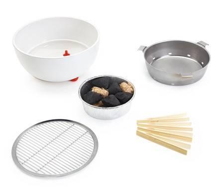 Barbecook Joya White Starter-Set