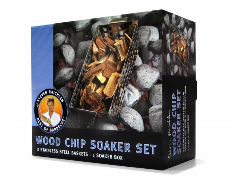 Steven Raichlen Soak and Smoke™ Wood Chip Soaker  - Abverkauf