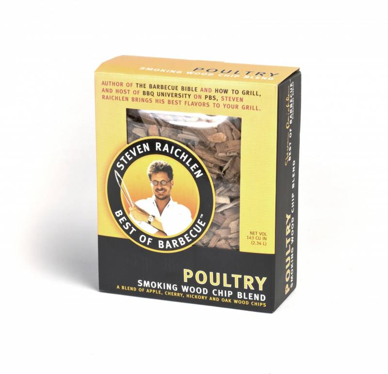Steven Raichlen Wood Chips / 550 g. - Poultry Blend