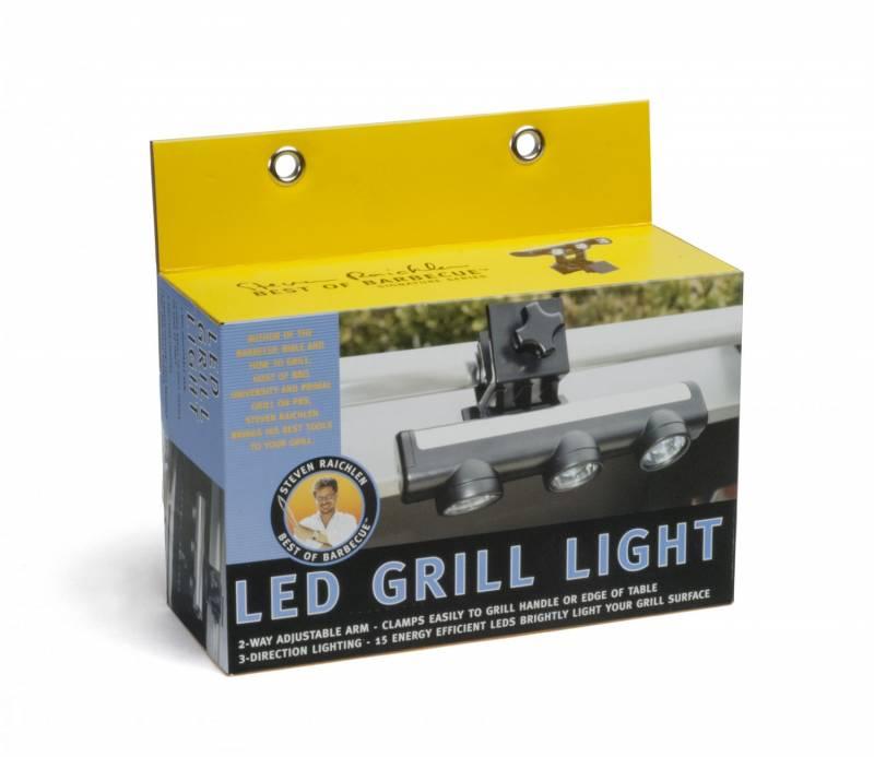 Steven Raichlen 3-Head LED Grill Leuchte