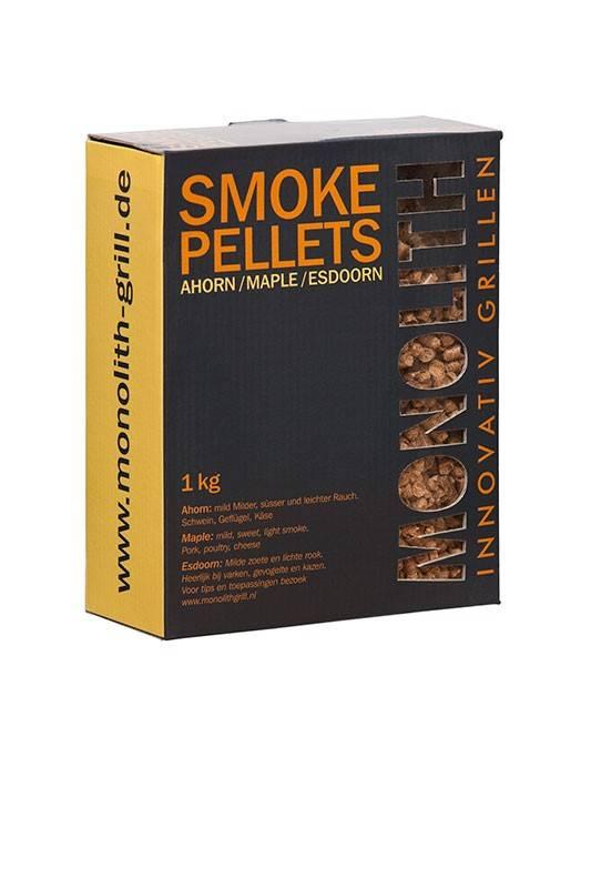 Monolith Smoke Pellets Ahorn / Maple 1kg Karton