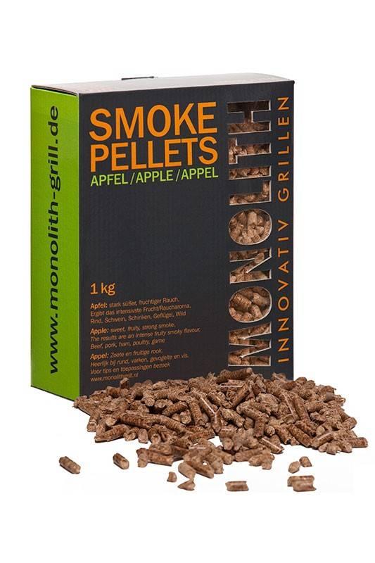 Monolith Smoke Pellets Apfel / Apple 1kg Karton
