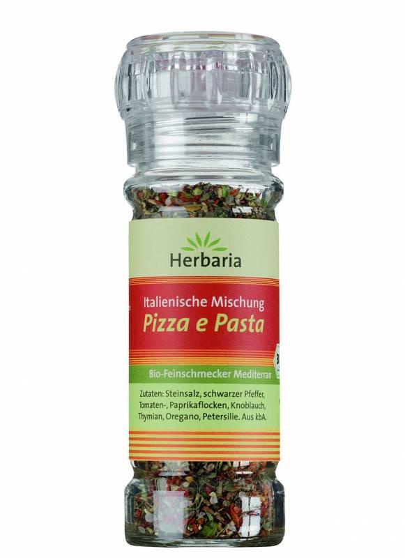 Herbaria BIO Pizza e Pasta - Gewürzmühle 50g