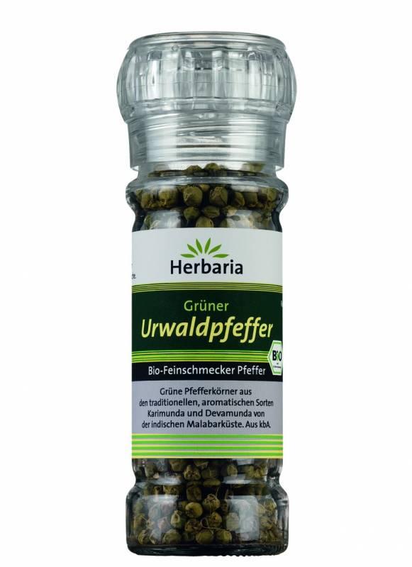 Herbaria BIO Urwaldpfeffer grün - Mühle 25g