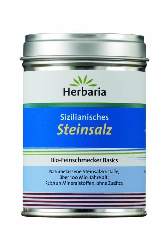 Herbaria Sizilianisches Steinsalz - Dose 200g