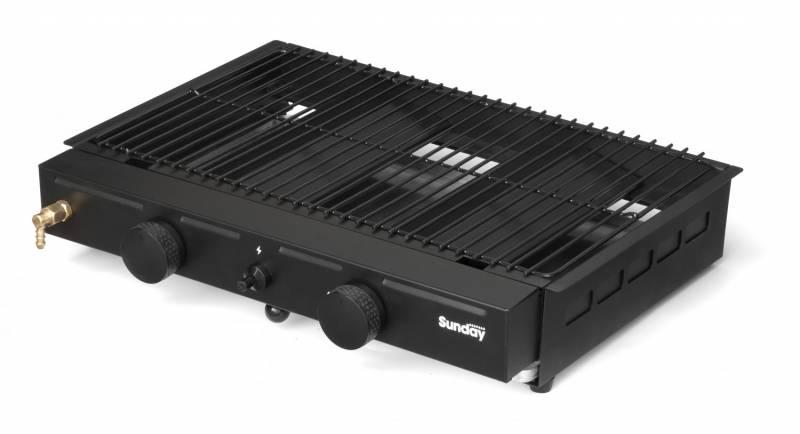 Duo-System Gas - 50 mbar (kompatibel mit Feuerräumen ab 60 cm)