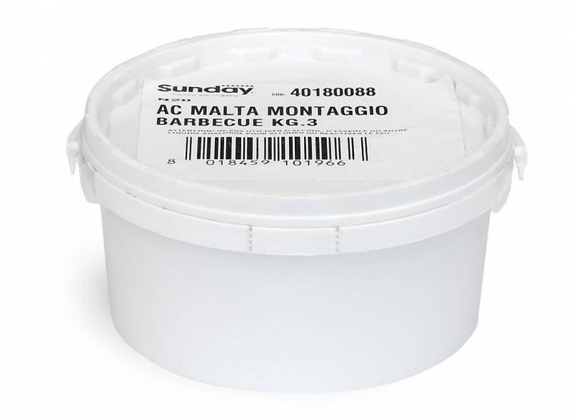Mörtel für Gartenkamine 3 kg