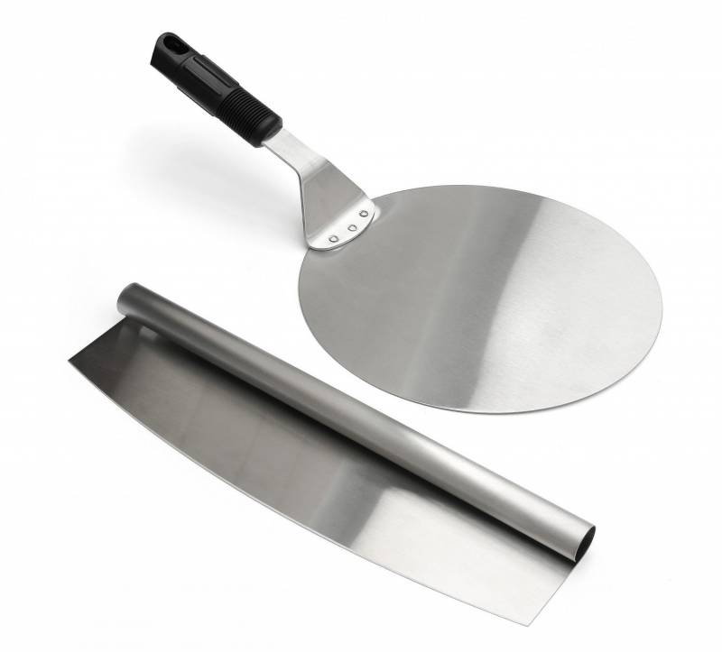Pizza Set mit Pizzaheber und Pizza-Messer
