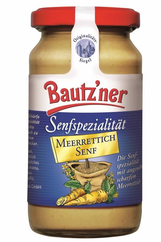 Bautzner Senfspezialität - Meerrettich Senf