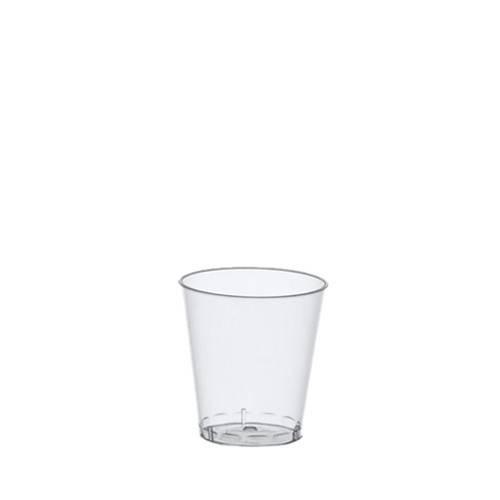40 Schnapsgläser PS 2 cl Ø 3,7 cm bis 4,1 cm glasklar