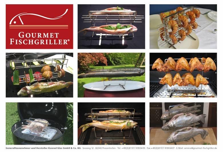 Gourmet Fischgriller Multi 8