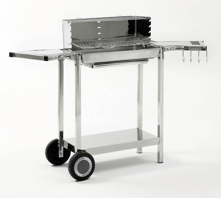 Landmann Grill Chef Holzkohle Grillwagen 11451 - B-Ware