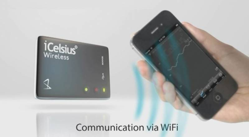 iCelsius wireless BBQ Thermometer für iOS and Android