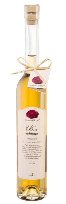 Gourmet Berner Bierschnaps, 30%vol., 0,2l