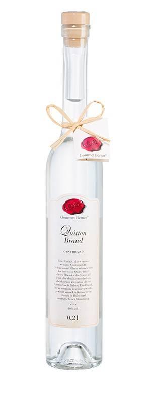 Gourmet Berner Quittenbrand, 40%vol., 0,2l