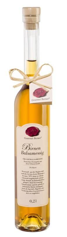 Gourmet Berner Birnen Balsamessig, 0,2l