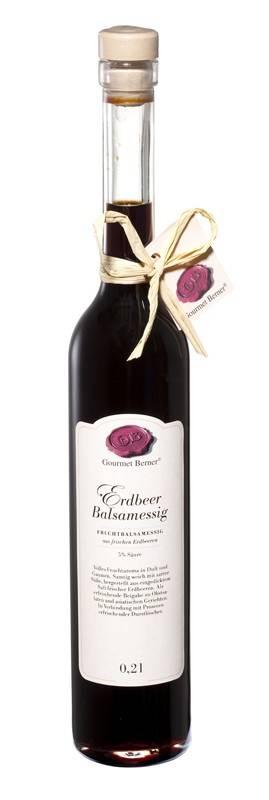 Gourmet Berner Erdbeer Balsamessig 0,2l