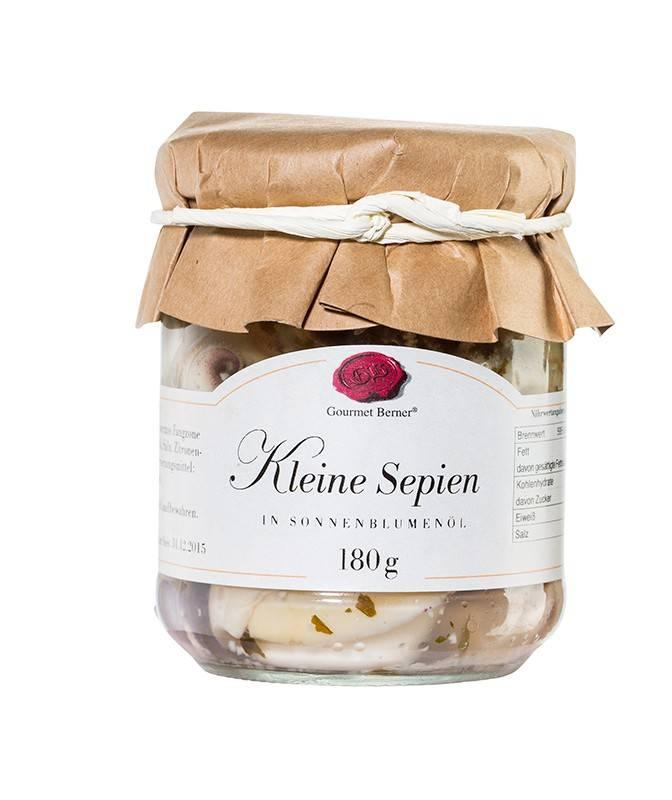 Gourmet Berner Kleine Sepien 212ml