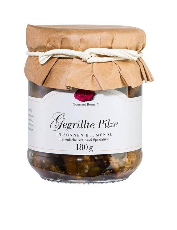 Gourmet Berner Gegrillte Pilze (nicht gefüllt) in Öl, 180g