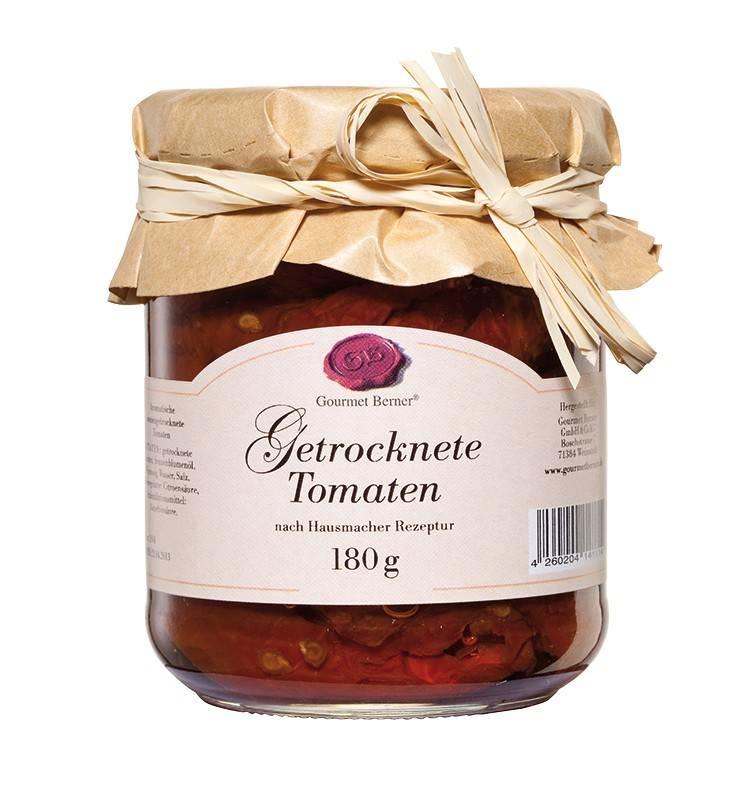 Gourmet Berner Getrocknete Tomaten 212ml / 180g