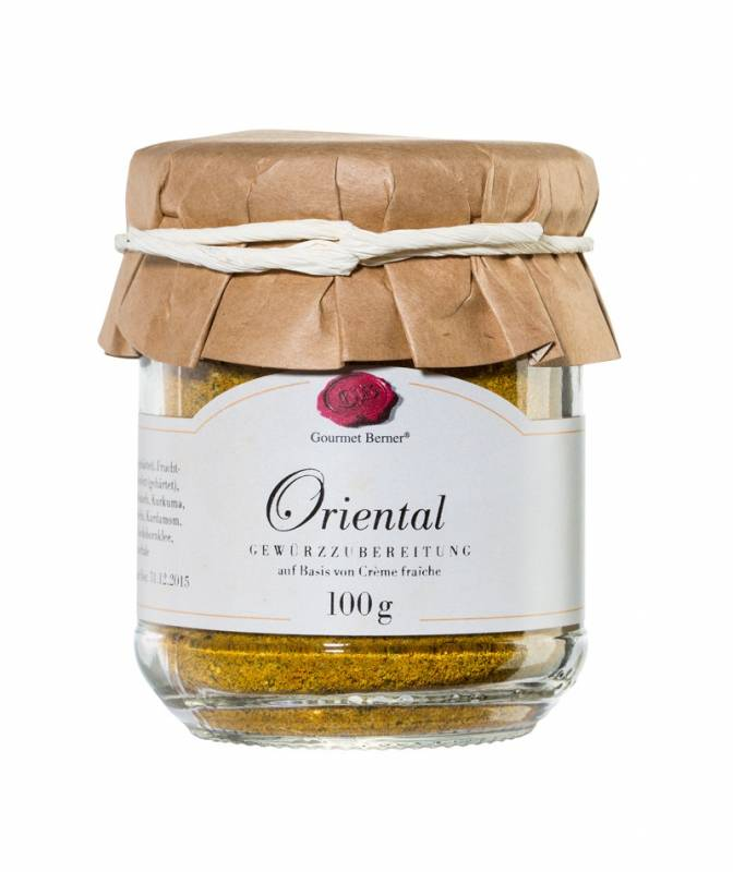 Gourmet Berner Oriental - Dip im 100g Glas