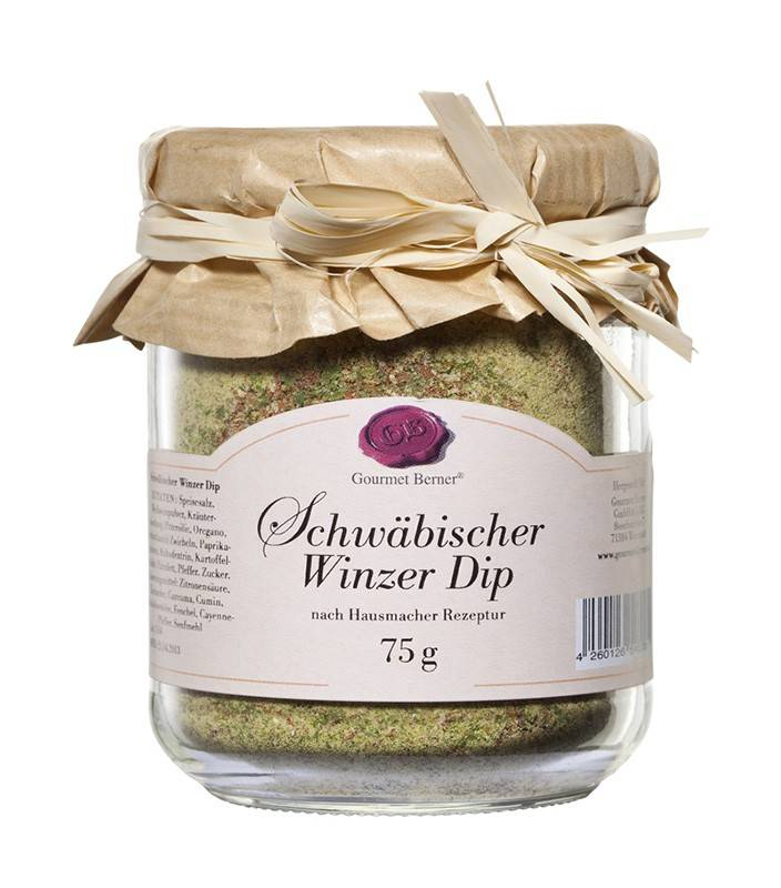 Gourmet Berner Schwäbisch Winzer Dip im 75g Glas