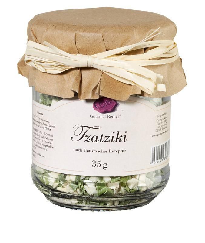 Gourmet Berner Tzatziki Dip im 35g Glas