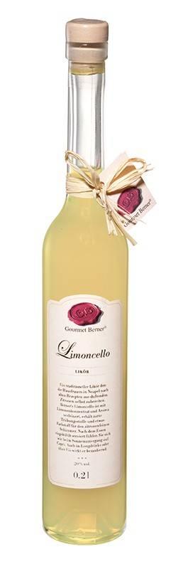 Gourmet Berner Limoncello, 30%vol., 0,2l