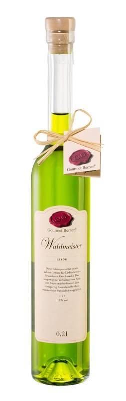 Gourmet Berner Waldmeisterlikör, 18%vol., 0,2l