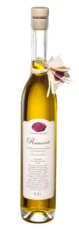 Gourmet Berner Rosmarinöl, 0,2l