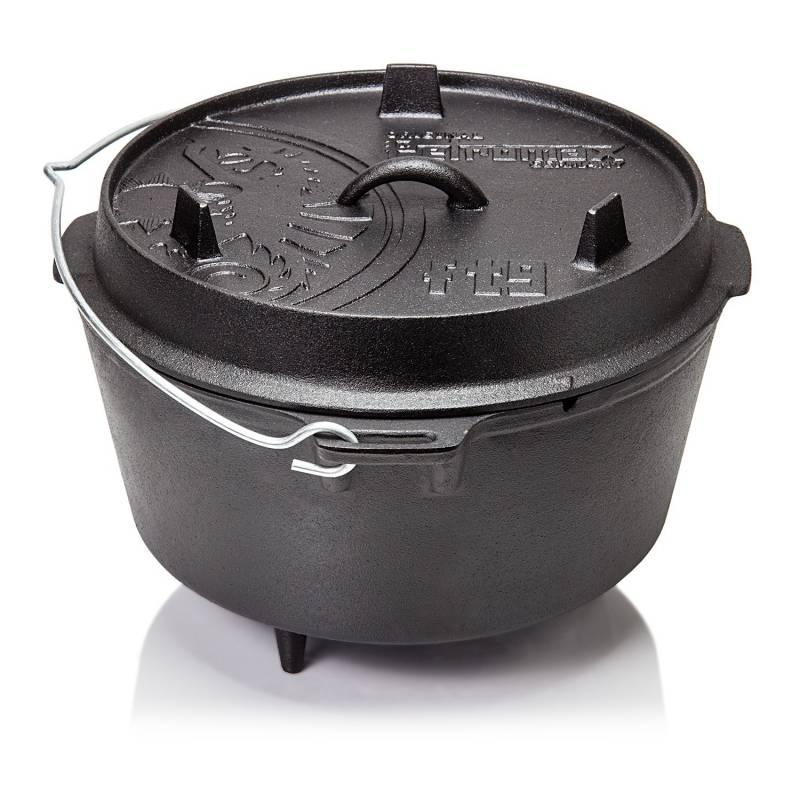 Petromax ft9 Feuertopf Dutch Oven 7,5 l - mit Füssen