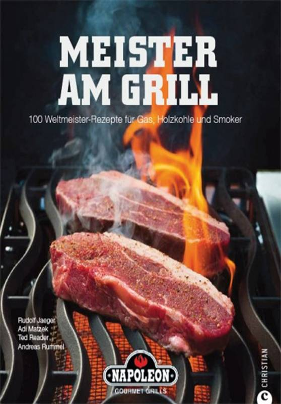 """Napoleon Kochbuch """"Meister Am Grill"""""""